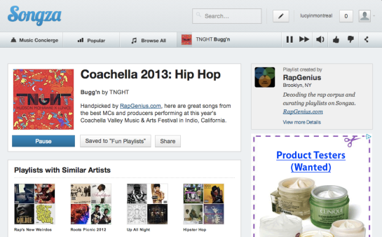 Songza Coachella 2013 Hip Hop